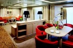 The fashionable suites designed for Silver sea Cruises' subsequently ship